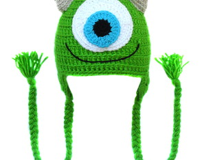 Touca de Croch� Mike Wazowski BABY