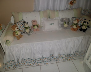 Kit De Cama Bab� safari