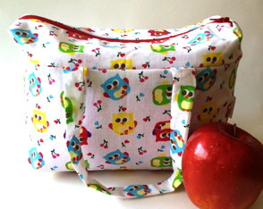 Lunch Bag T�rmica M Corujinhas
