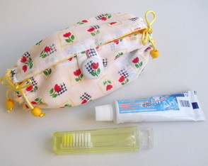 Kit higiene bucal Tulipa