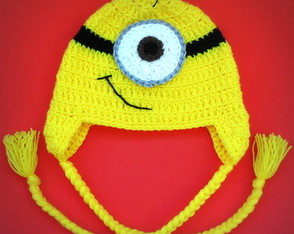 Touca de Croch� Minion 1 BABY