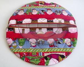 Porta pratos Natal