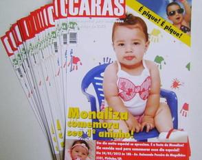 Convites Anivers�rio Capa de Revista