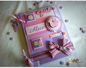 Livro do Beb� Baby Girl Alice