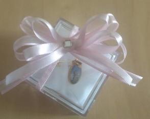caixa de acr�lico com medalha