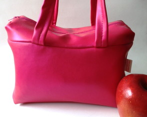 Lunch Bag T�rmica M Ecocouro Pink