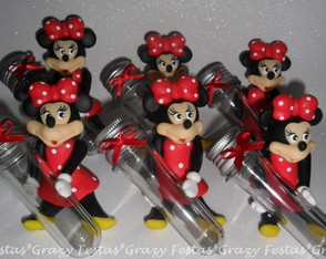 Minnie com Tubete