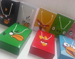 Sacolinha Personalizada - Angry Birds