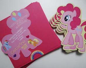 Convites Anivers�rio My Little Pony