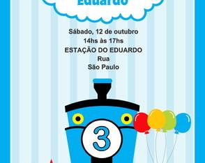 Convite Thomas E Seus Amigos Pictures to pin on Pinterest // Read ...