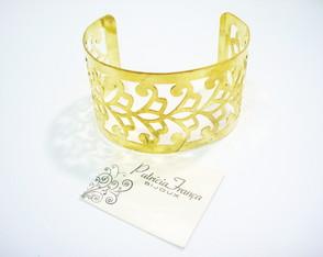 Bracelete Dourado Arabesco