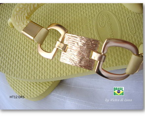 Havaiana Gold in Yellow