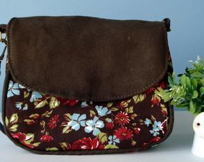 Mini Bag Floral Brown