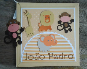 Livro Do Beb� Safari Compos�