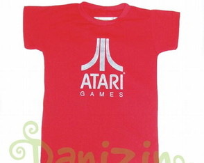 T-Shirt Infantil ATARI