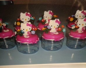 Pote da hello kitty