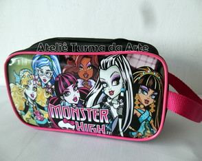 Necessaire Retangular Monster High