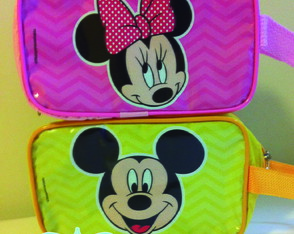Minnie e Mickey Necessaire