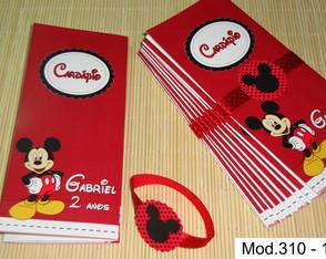 Card�pio ou Menu Mickey