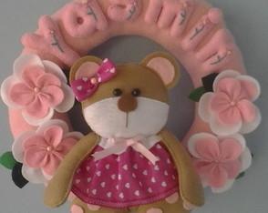 Guirlanda infantil Ursa Sofia
