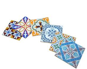 Porta copos azulejo portugu�s