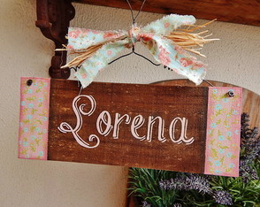 Placa Customiz�vel Lorena