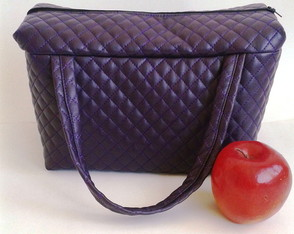 Lunch Bag T�rmica GG Matelass� roxo