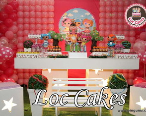 Decora��o clean Lalaloopsy