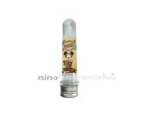 R�tulo Tubetes Mickey Safari