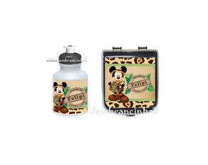 Kit Lanche - Mickey Safari