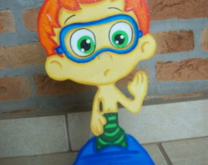 Bubble Guppies - mdf