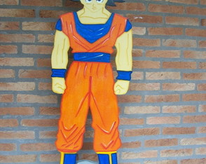Dragon Ball Z - cen�rio mdf