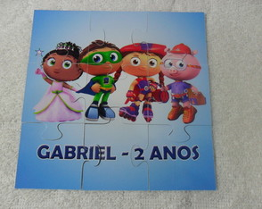 Quebra Cabe�as Super Why