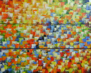 Abstrato Pint. A M�o Em Pain�is Cod 712