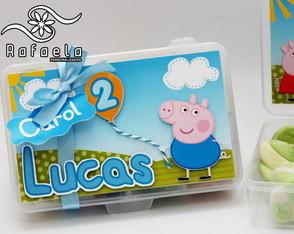 Convite Geroge Pig