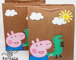 Sacolas Scrap George Pig