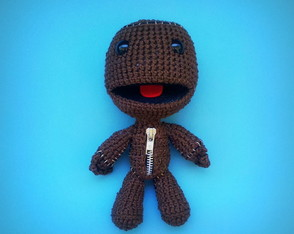 Sackboy de Croch� Little Big Planet