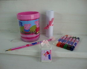 Kit Porta-l�pis - Peppa Pig