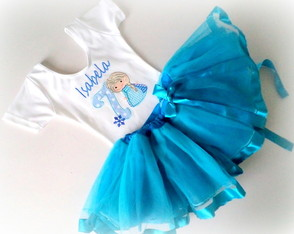 Conjunto - Princesa do Gelo
