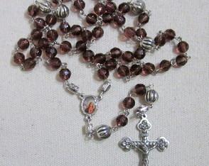 Ter�o Cristal Uva Cora��o de Maria