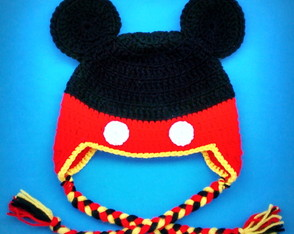 Touca de Croch� Mickey INFANTIL