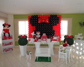 Aluguel Mesa Proven�al Minnie Vermelha 2