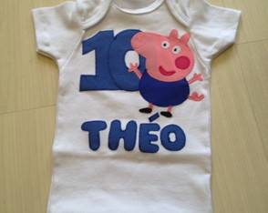 Body Ou Camiseta George Pig