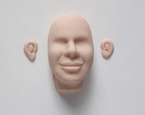 Rosto masculino A3