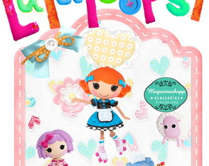 Kit Scrapbook Digital Lalaloopsy