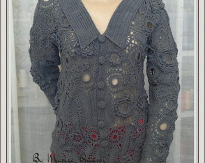 casaco Crochet Irland�s