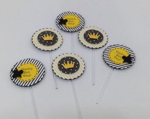 Palitos para doce festa da abelha