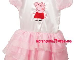 Vestido Peppa Pig - MOD. 1