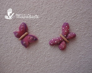 C�d 519 molde de borboleta com 2 p�s