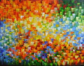 Abstrato Multicores 80x120 Cod 744